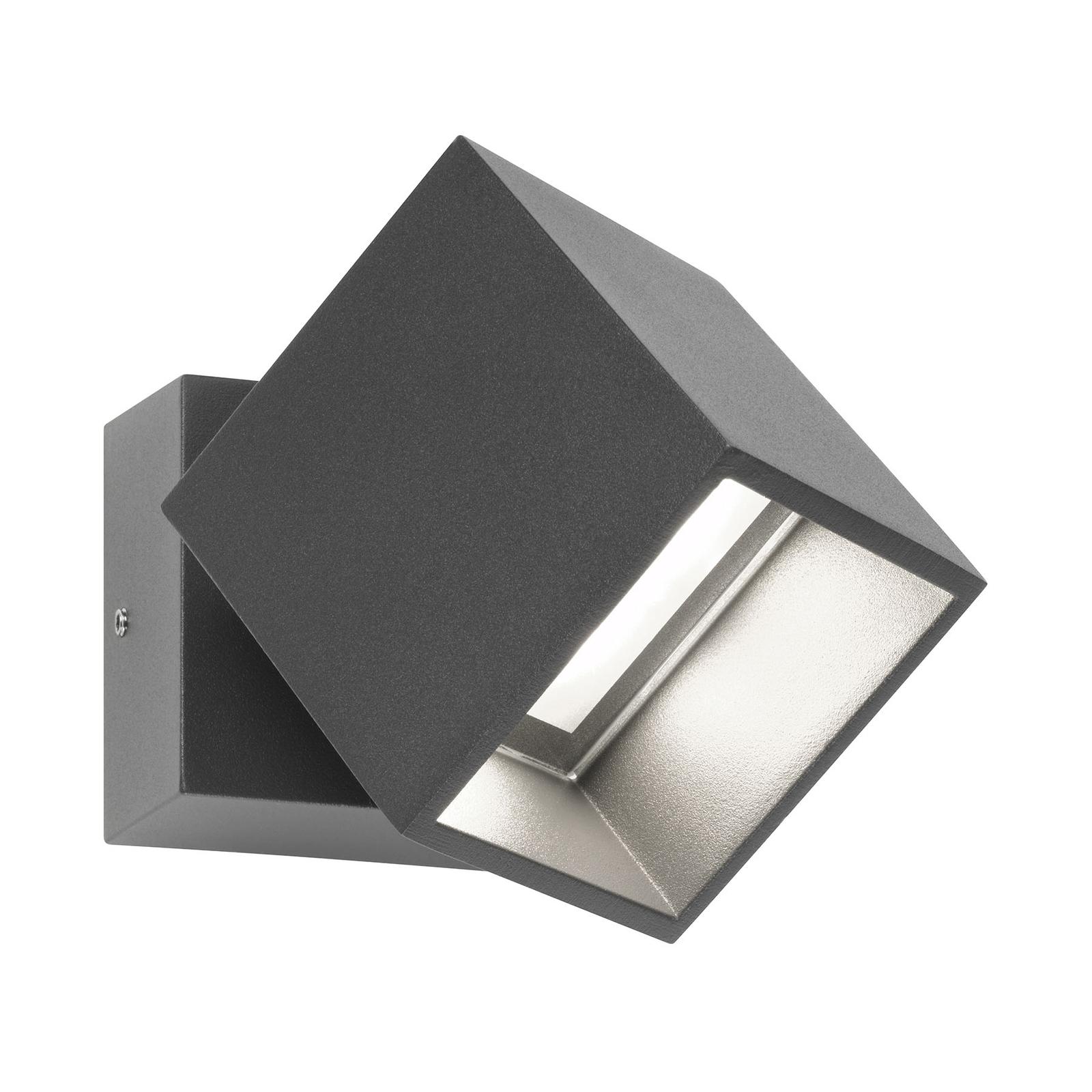 LED-ulkokohdevalo 5002, säädettävä, grafiitti