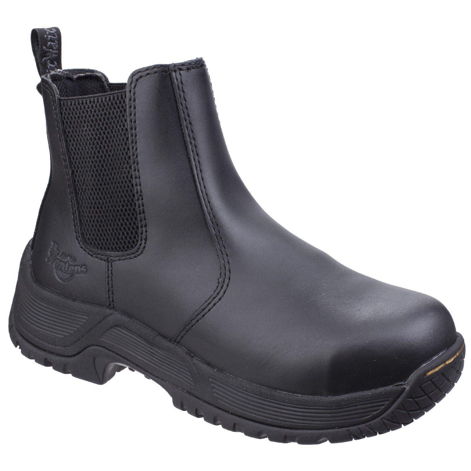 Dr Martens Men's Drakelow Safety Boot Black 26021 - Black 12