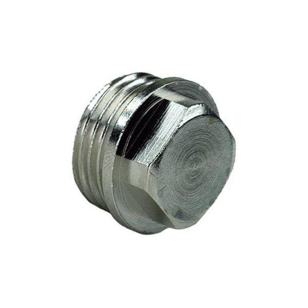 Ezze 3006099022 Metallplugg utv gjenge G15, forniklet