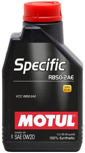 Moottoriöljy MOTUL SPECIFIC RBS0-2AE 0W20 1L
