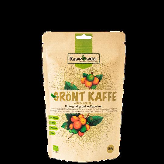 Grönt Kaffepulver EKO, 250 g