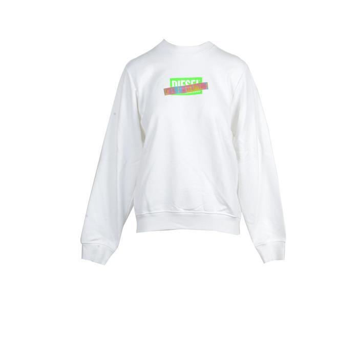 Diesel Women's Sweatshirt White 213758 - white S