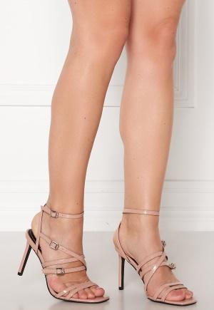 ONLY Alyx PU Heeled Sandal Nude 39