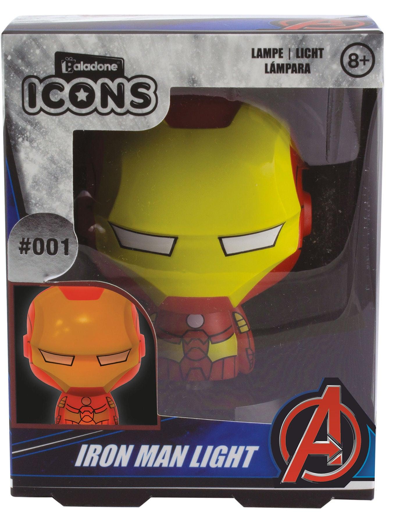 Marvel Avengers Iron Man Icon Light BDP Yövalo