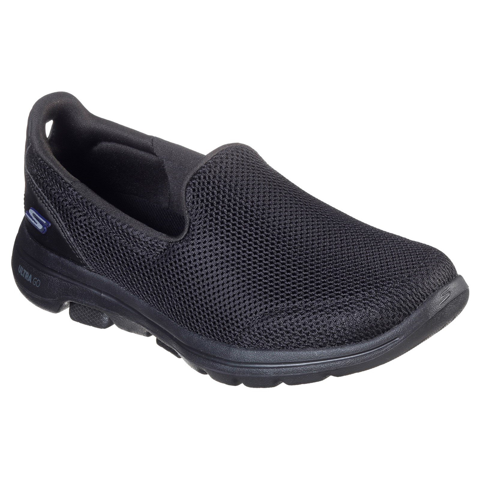 Skechers Women's Go Walk 5 Wide Trainer Various Colours 33061 - Black 4