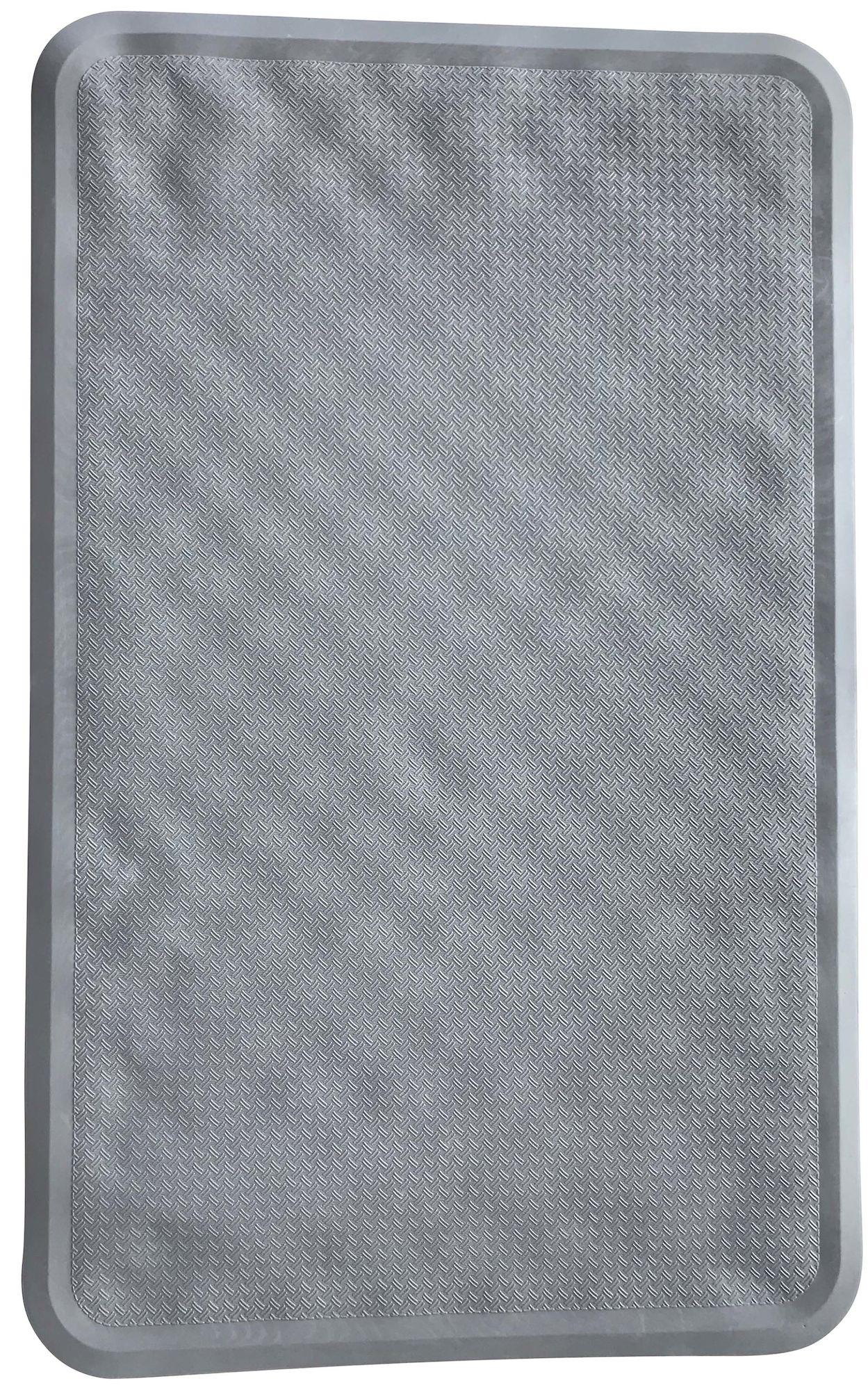 BabyDan Liukuestematto 35x55 cm, Grey