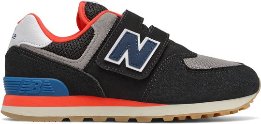 New Balance 574 Sneaker, Black, 28