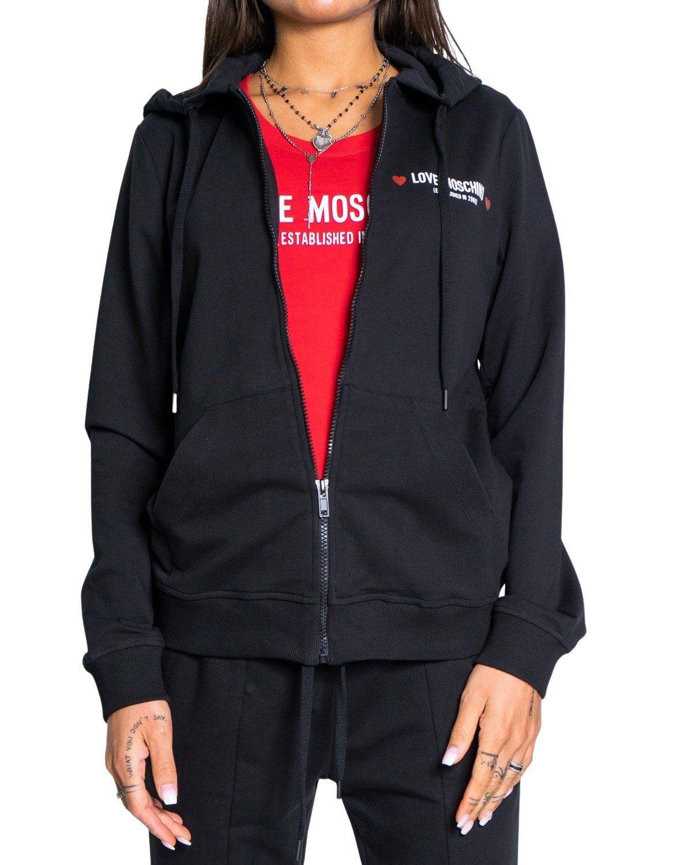 Love Moschino Women's Sweatshirt Various Colours 190699 - black 40