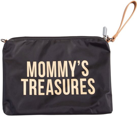 Childhome Mommy Clutch, Black Gold