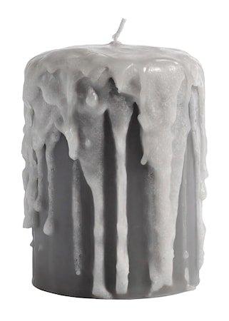 Blokklys Ø 8x10cm - Grå