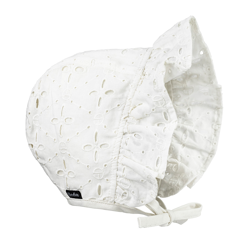 Baby Bonnet - Embroidery Anglaise