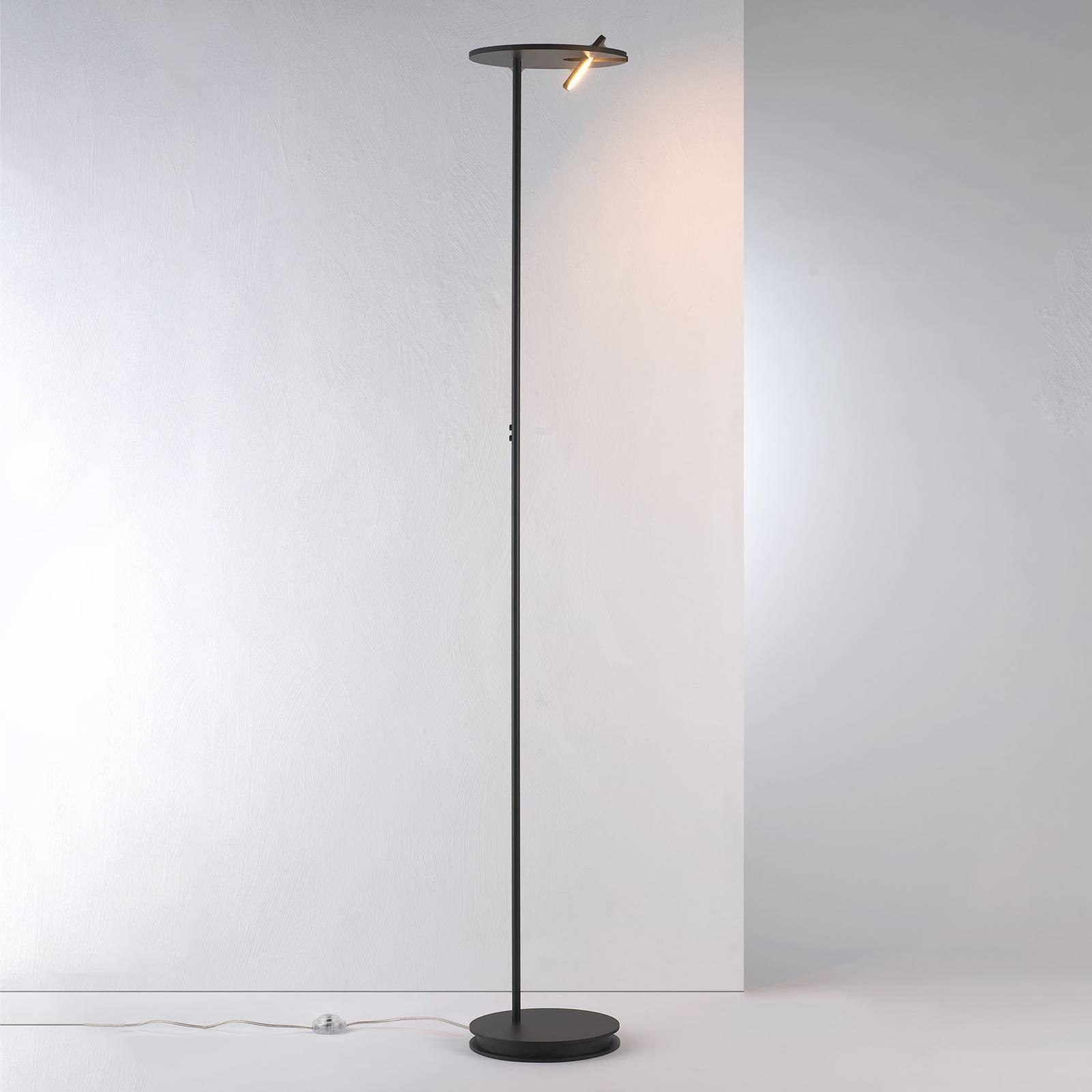Bopp Share LED-uplight med leselampe, svart