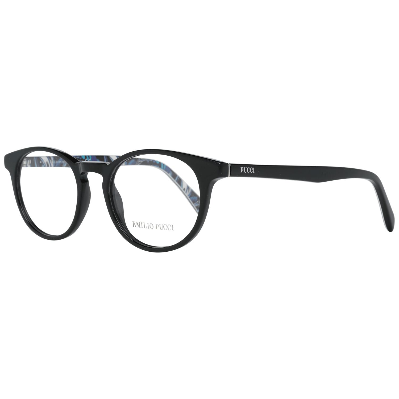 Emilio Pucci Women's Optical Frames Eyewear Black EP5018 48001