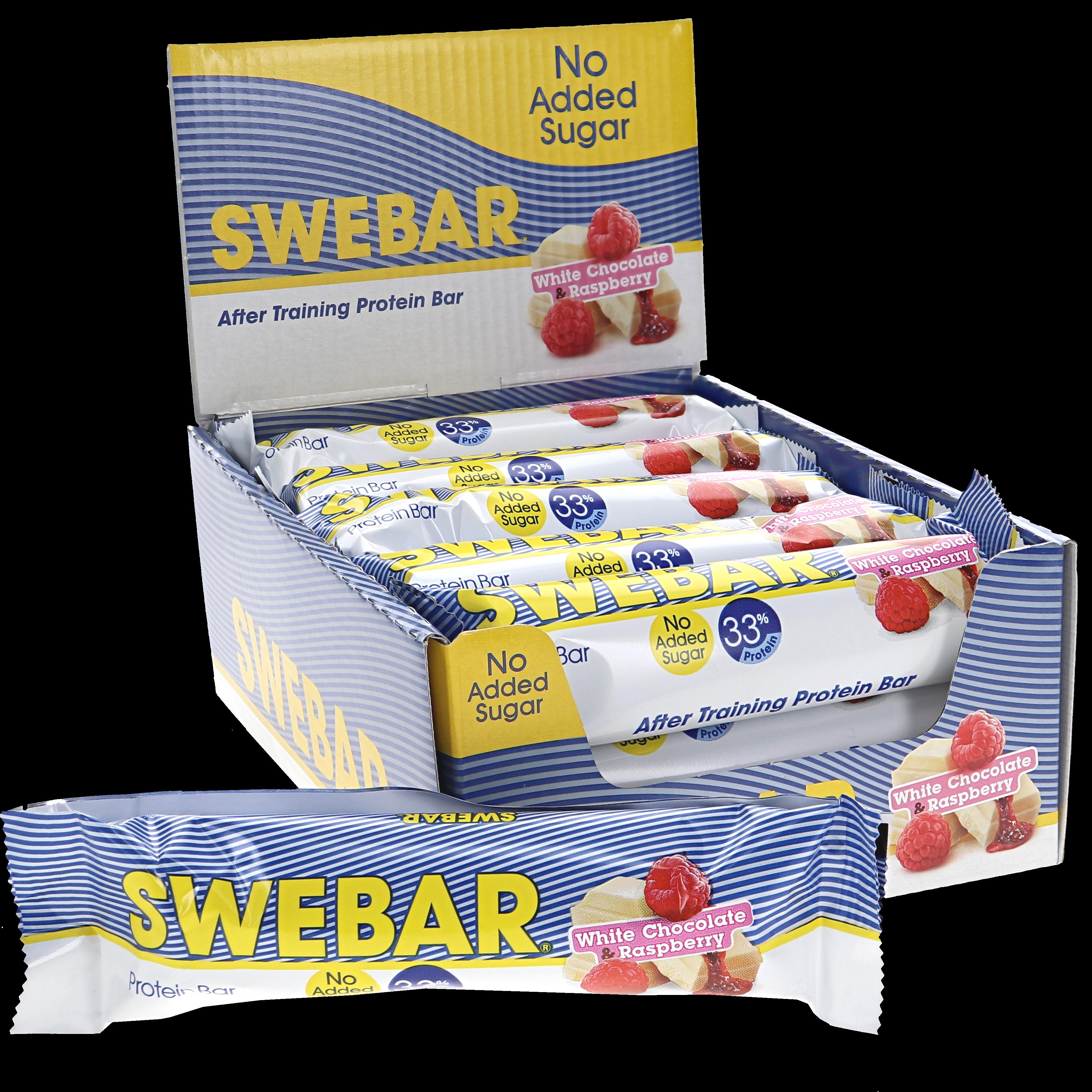 Proteinbar White Choco Raspberry 15-pack - 33% rabatt