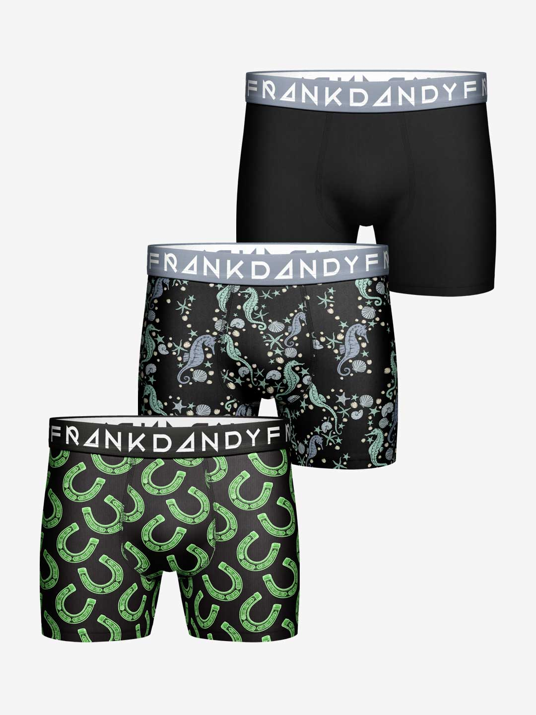Frank Dandy 3-Pack Lucky Sea Boxer