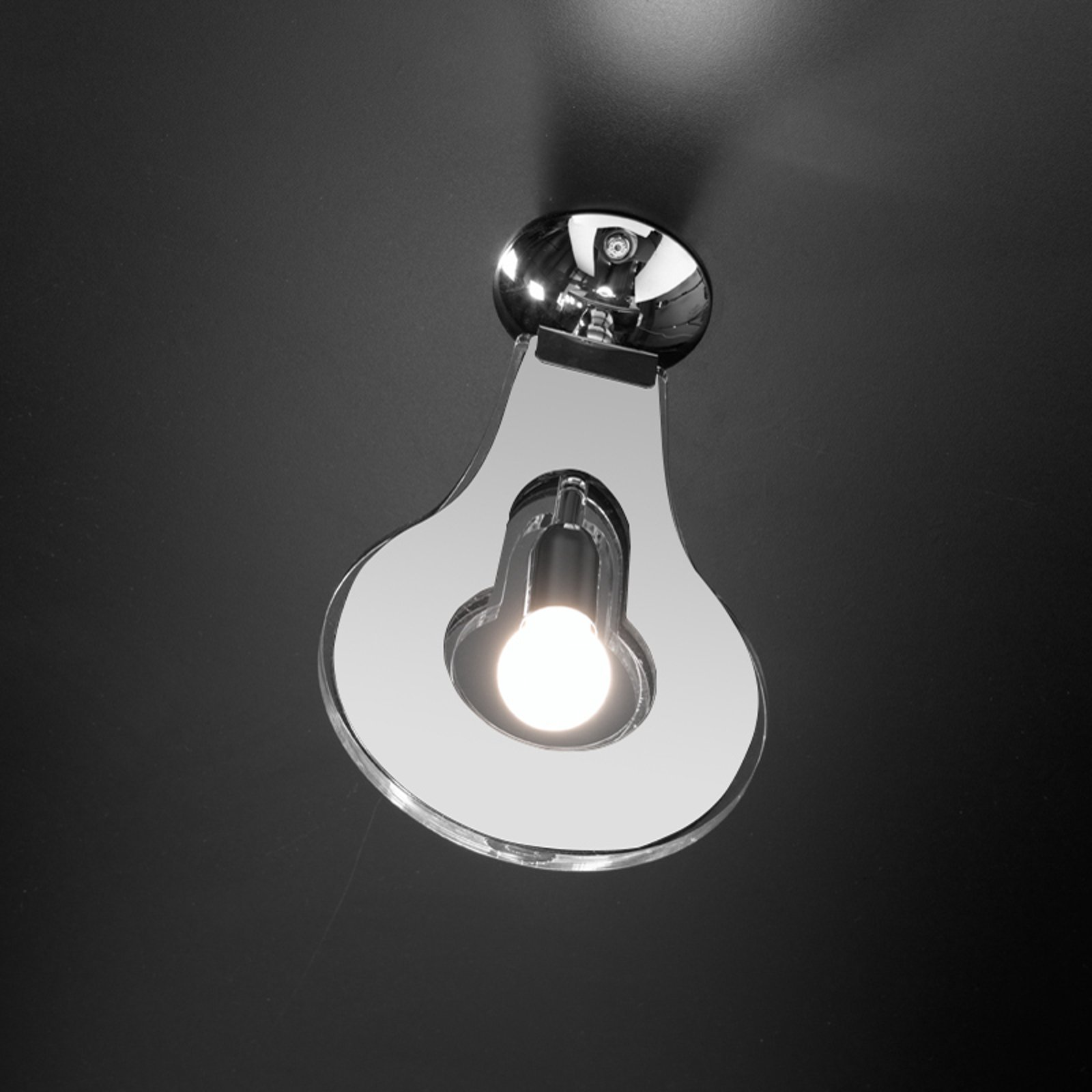 Trendy taklampe Flat hvit