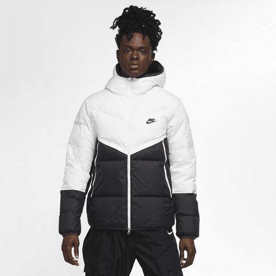 Nike M Dwn Fil Wr Jkt Shld Jackor WHITE/DK SMOKE GRE