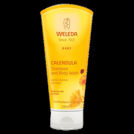 Calendula Shampoo & Body Wash, 200 ml