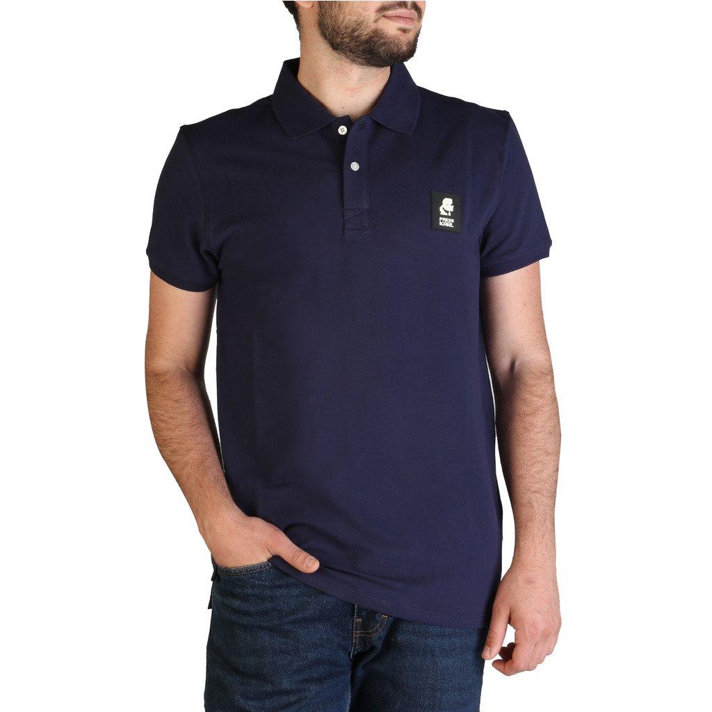 Karl Lagerfeld Men's Polo Shirt Various Colours KL21MPL01 - blue M