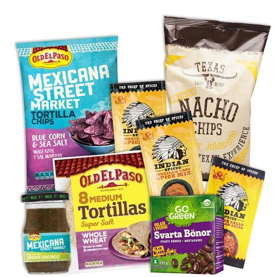 Taco-paketet - 63% rabatt