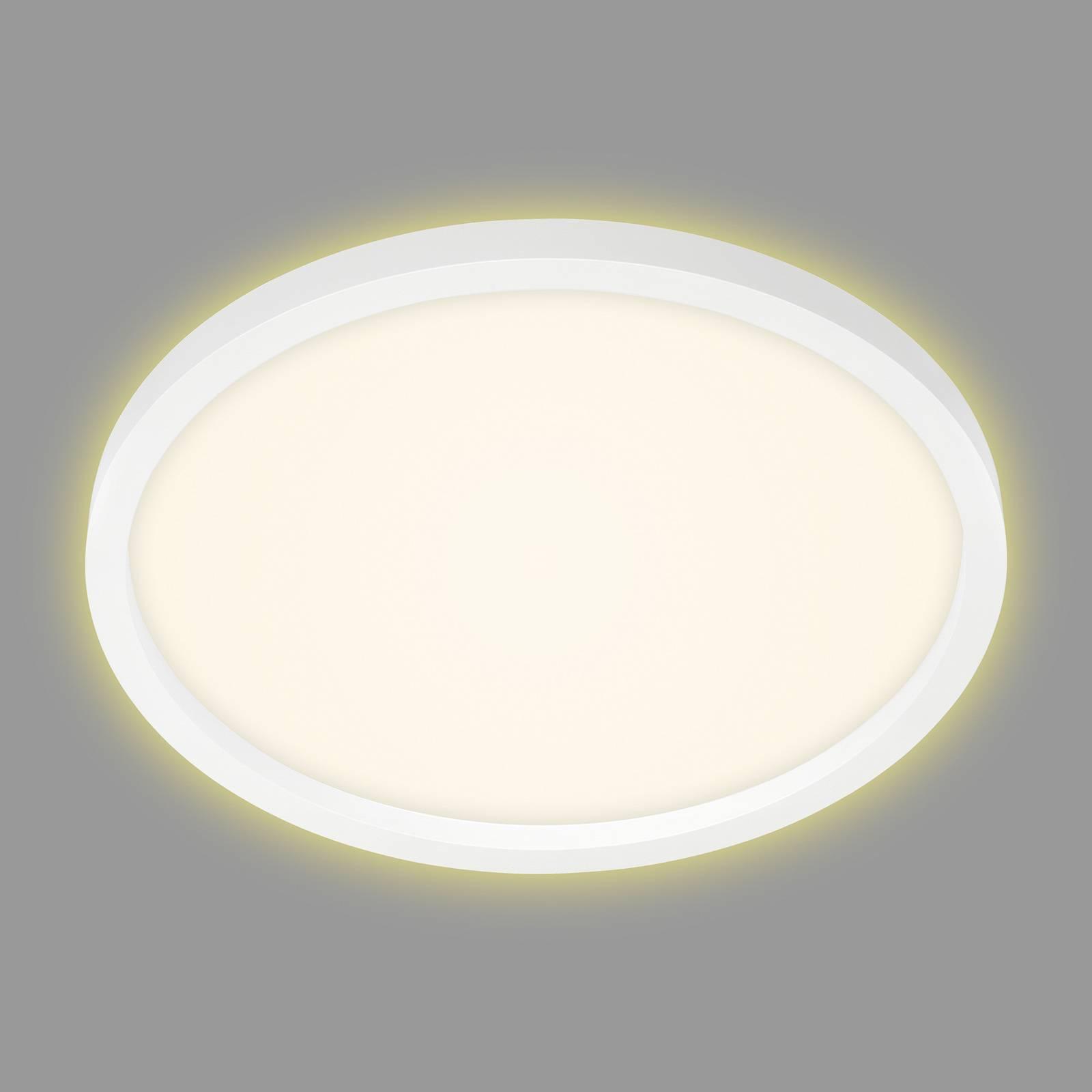 LED-kattovalaisin 7363, Ø 42 cm, valkoinen