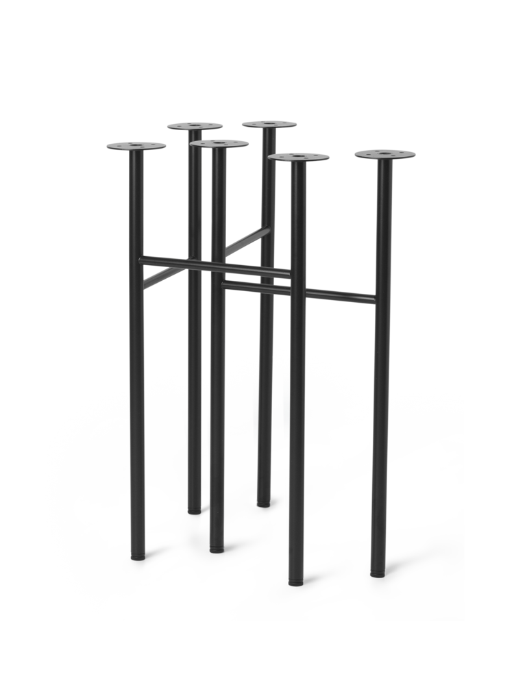 Ferm Living - Mingle Table Legs 71 cm - Black (9834)