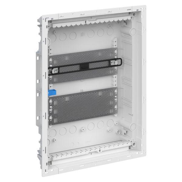 ABB UK600 2CPX031394R9999 Vakiokeskuskotelo ilman ovea 2-rivinen