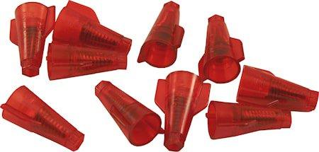 Toppklemme Torix Rød 1–4mm² 5-pakning