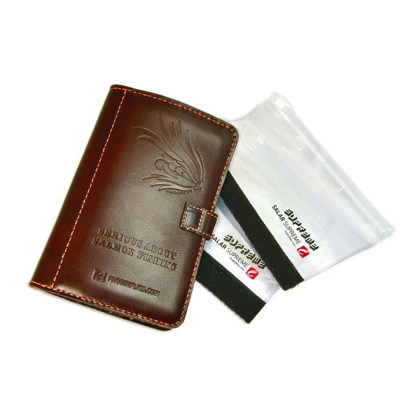 Frödin Flies Leather Fly Wallet Medium