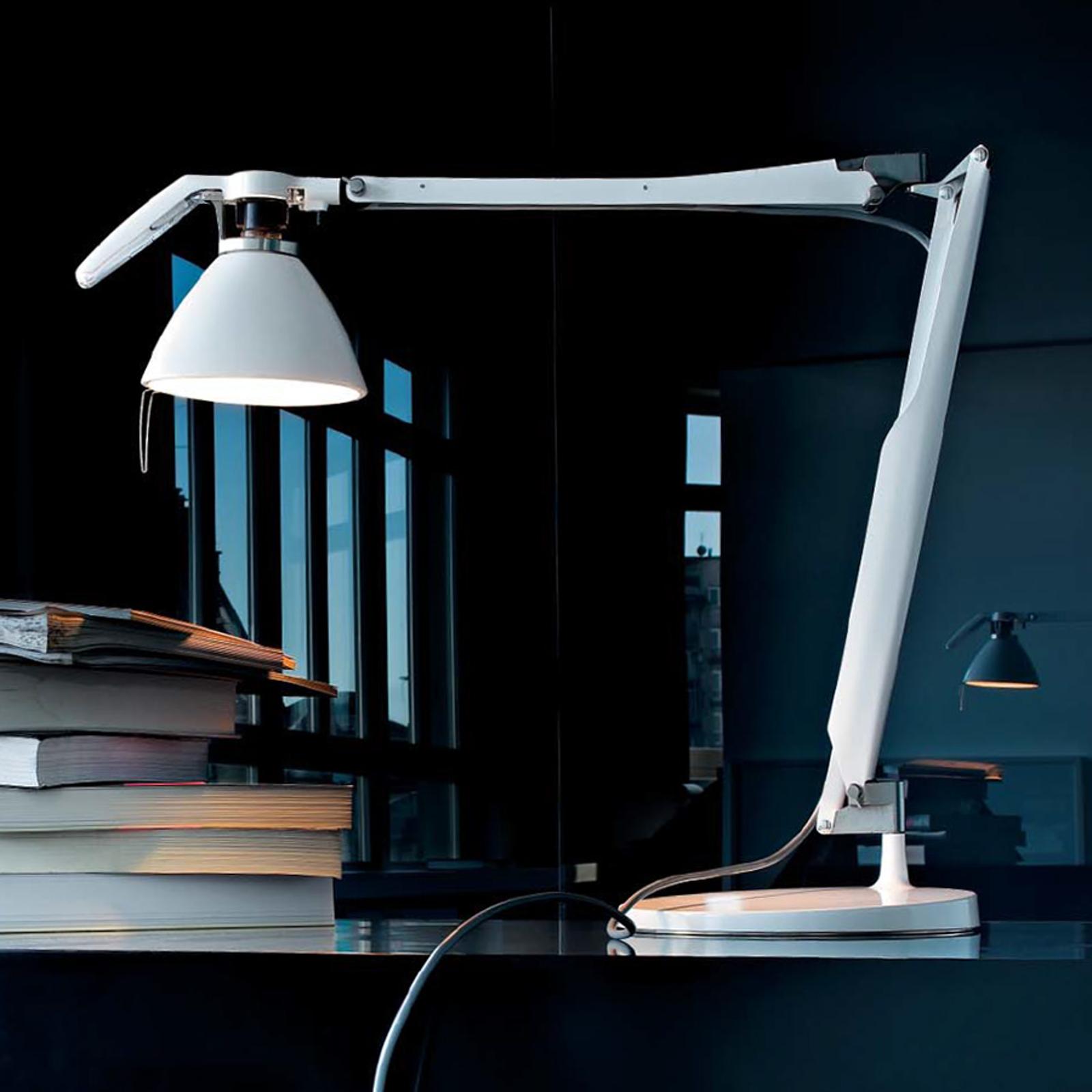 Fortebraccio-LED-työpöytälamppu LEDillä valkoinen