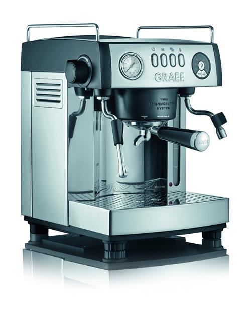 Graef E2902eu Baronessa 2200 Watt Espressomaskin - Rostfritt Stål