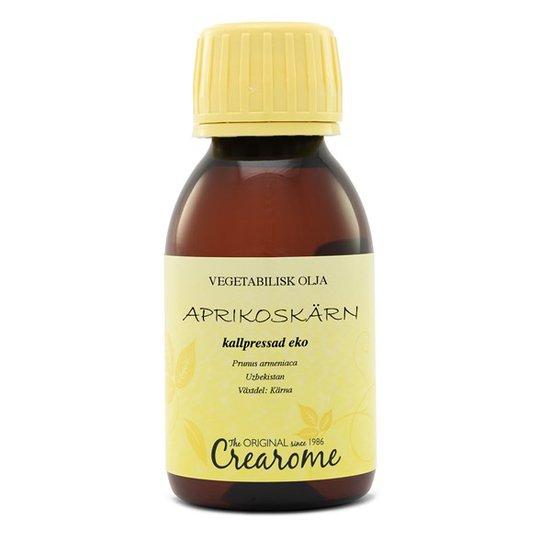 Crearome Ekologisk Aprikoskärnolja Kallpressad, 100 ml