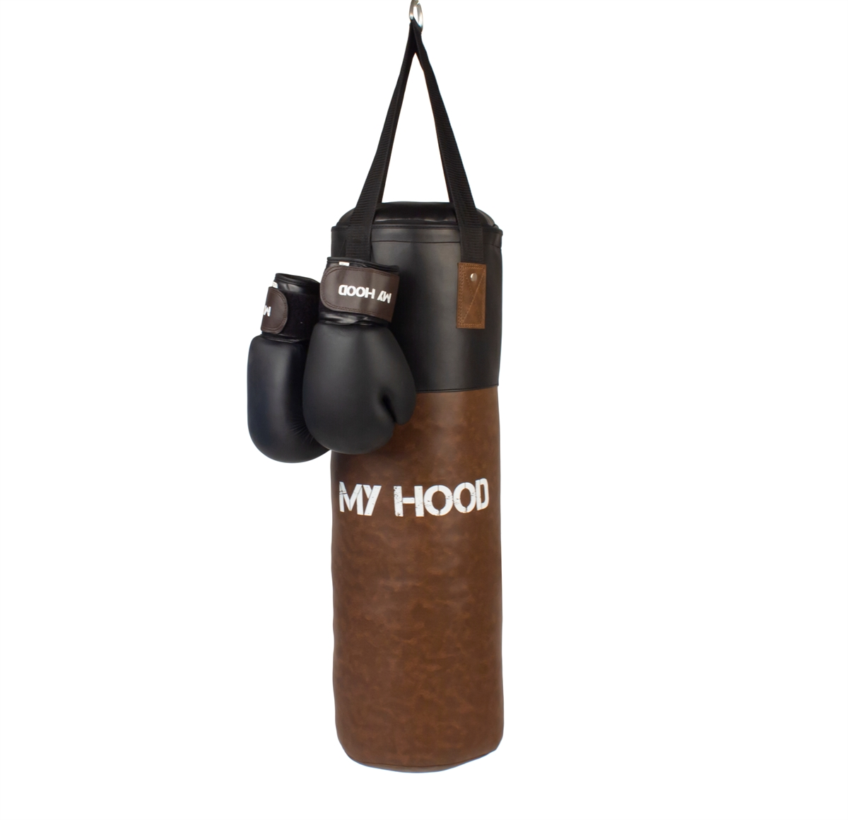 My Hood - Boxing Bag with Gloves - Retro (201046)