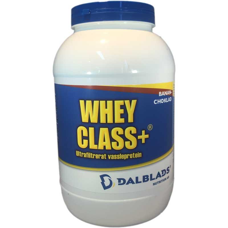 Whey Class+ Banan / Choklad 1kg - 72% rabatt