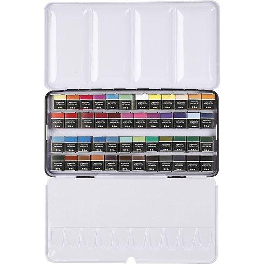 Creativ Company Aqua Blandede Farger 48 Farger