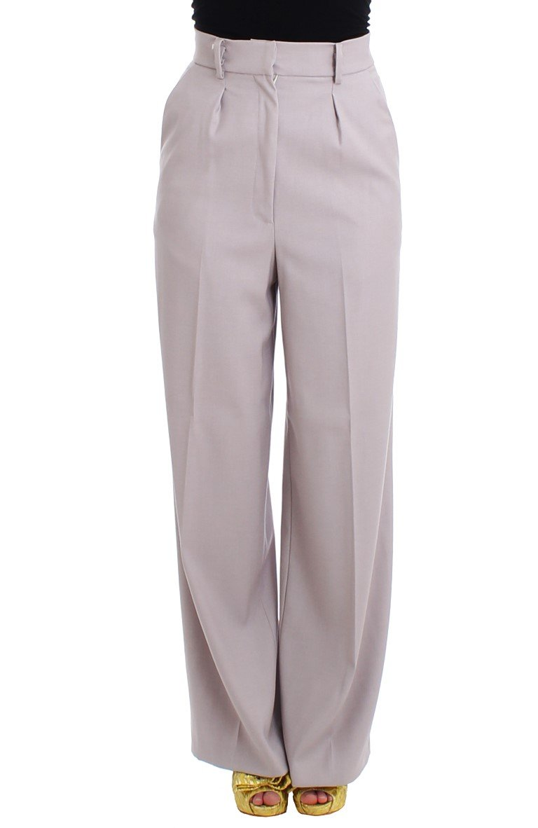 Cavalli Women's Trousers Grey SIG11825 - IT40 S