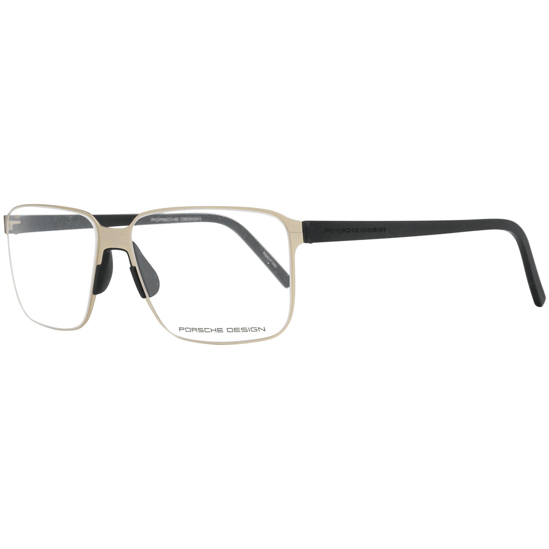 Porsche Design Men's Optical Frames Eyewear Gold P8313 57B