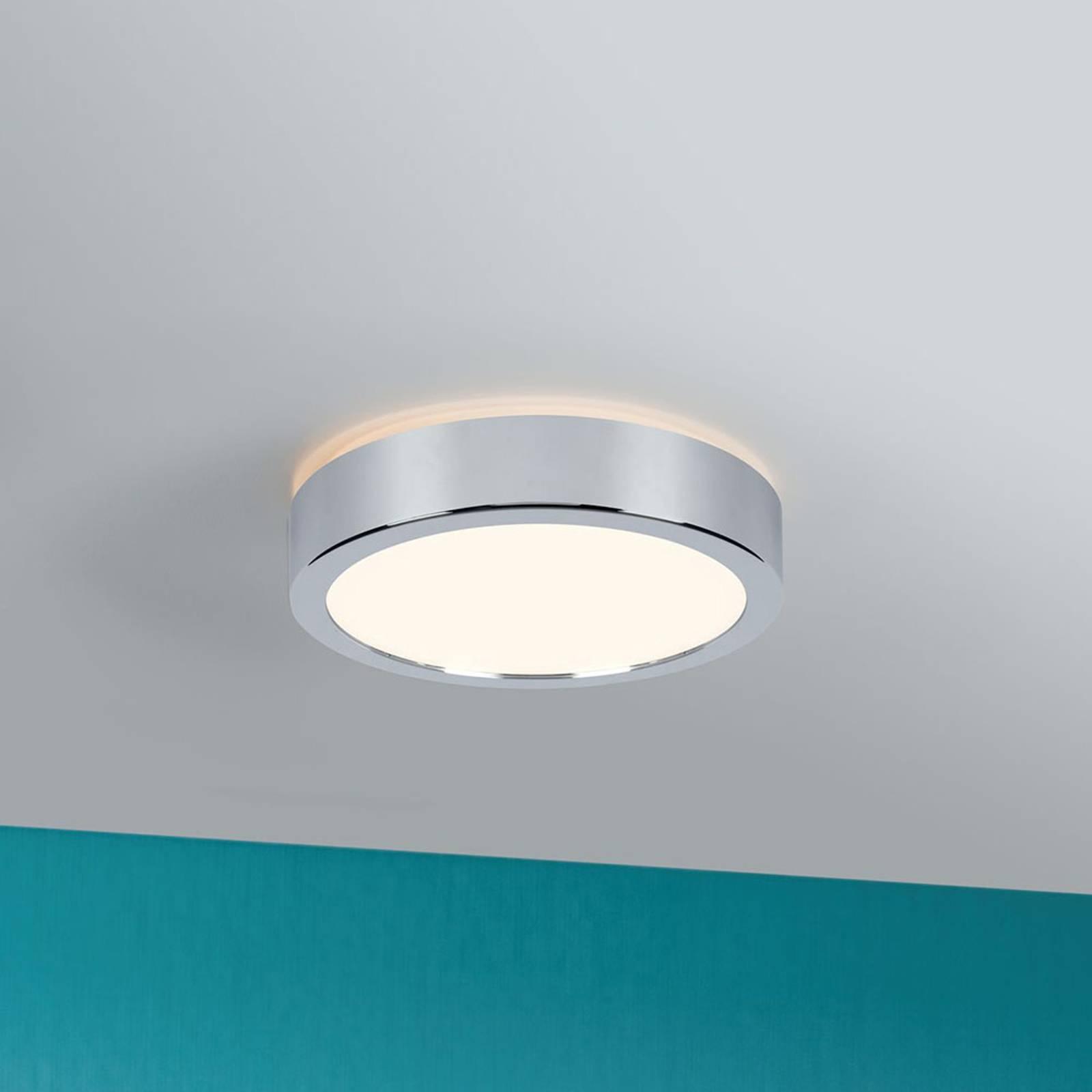 Paulmann Aviar -LED-kattovalo 22 cm kromi 3000K
