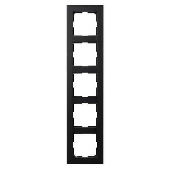 Elko Plus Yhdistelmäkehys musta 5-paikkainen