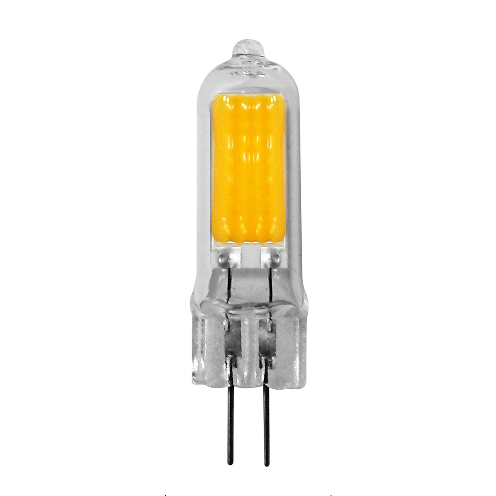 Kaksikantainen LED-lamppu G4 1,6W lämmin valkoinen