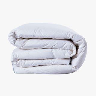 Disa lämmin untuvapeitto valkoinen - 150x210 cm