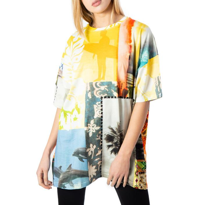 Desigual Women's T-Shirt Yellow 170638 - yellow M