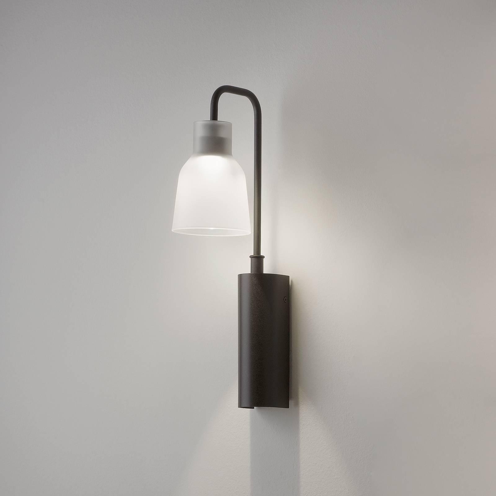 Bover Drip A/02 LED-vegglampe, matt-hvitt