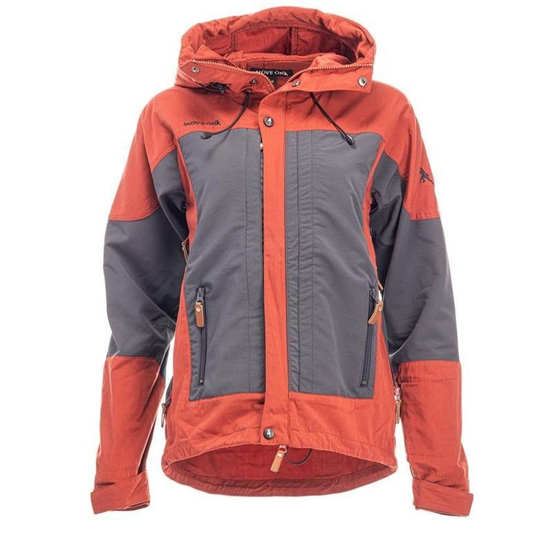 MoveOn Loen jakke Brent Orange 44 Turjakke for dame