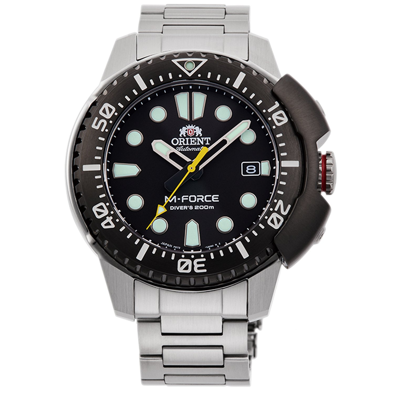 Orient Men's Watch Silver RA-AC0L01B00B