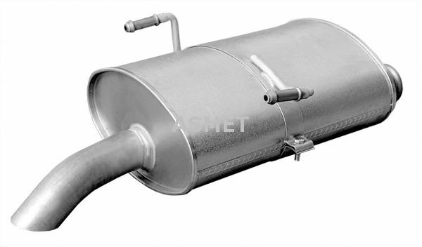 Korjausputki, katalysaattori ASMET 08.082