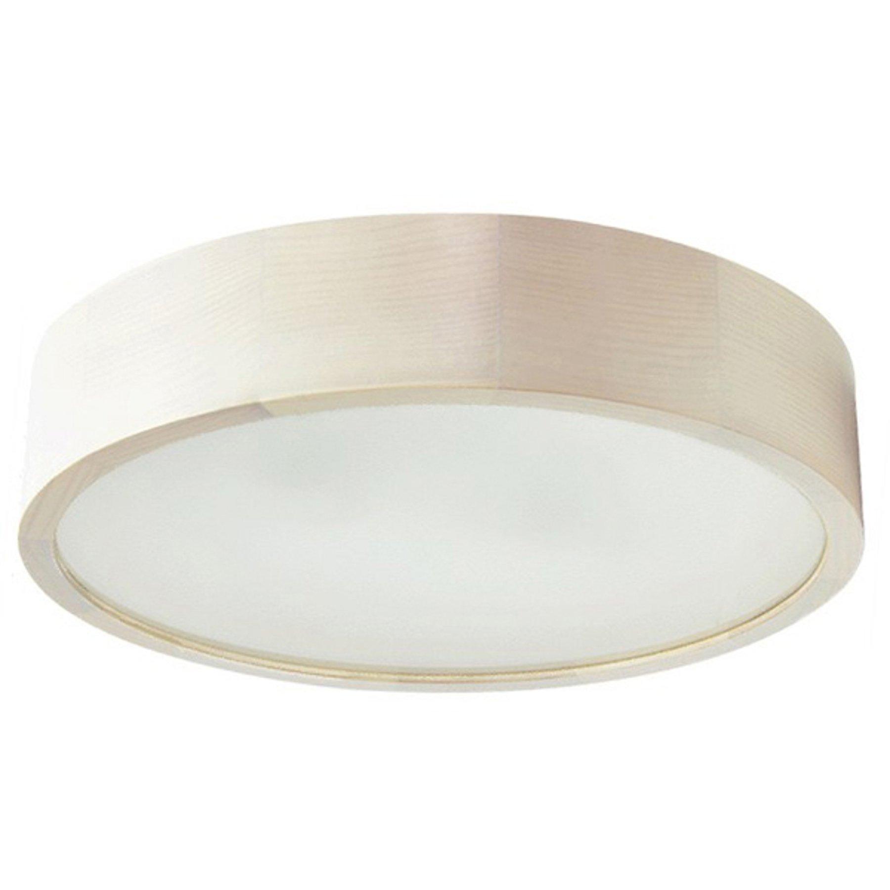 LED-taklampe Cleo, Ø 28 cm, hvit