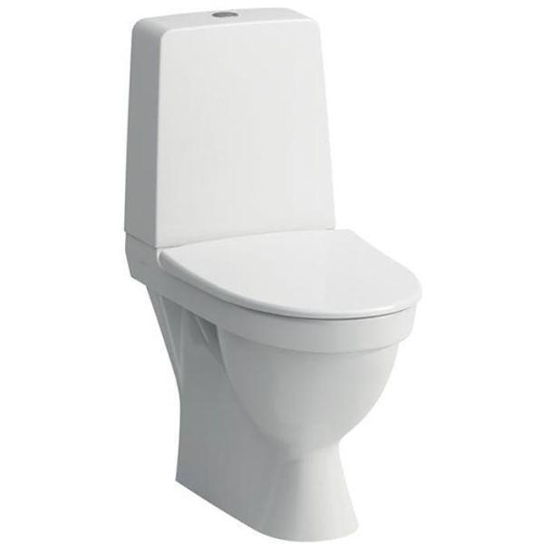 Laufen Kompas Rimless Toalettstol med mykt sete