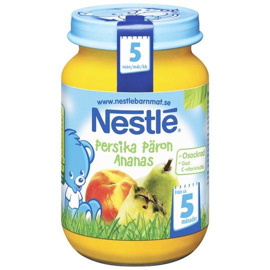 Barnmat Persika Päron & Ananas 195g - 36% rabatt