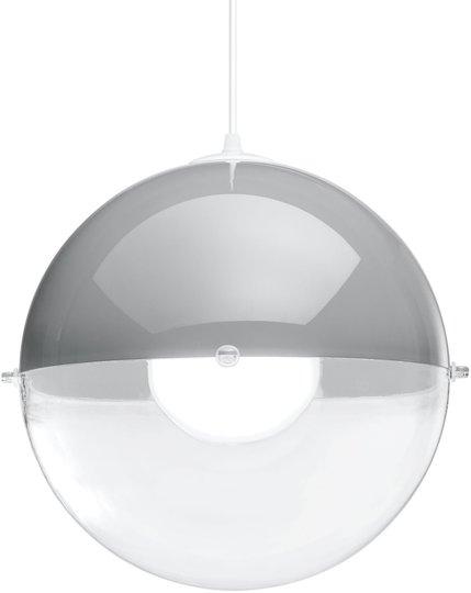 Koziol Taklampe Orion Gjennomsiktig, Grå